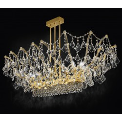 Asfour crystal ceiling lamp 490/PL12/OL/ASF