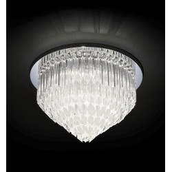 Glass pendants ceiling lamp 464/CR/PL60/VT