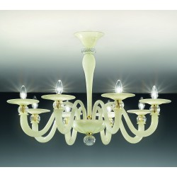 Murano glass artistic Ceiling lamp 1154/8PL