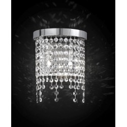 Wall lamp with Asfour crystal 660/A2/CR/ASF