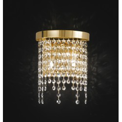 Wall lamp with Asfour crystal 660/A2/OL/ASF