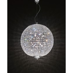 Chandelier with Asfour crystal 708/S70/CR/ASF