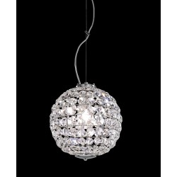 Chandelier with Asfour crystal 708/S25/CR/ASF