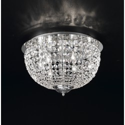 Ceiling lamp with Asfour crystal 708/PL55/CR/ASF