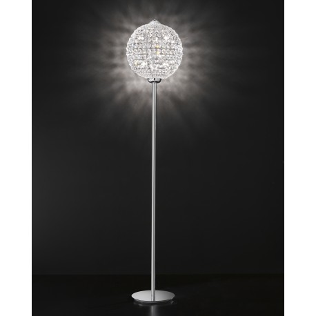 Floor lamp with Asfour crystal 708/PT40/CR/ASF
