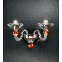 Murano glass artistic wall lamp 1153/A2