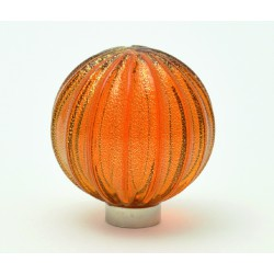 Murano glass Knobs SFERA RIGADIN ORO 1521