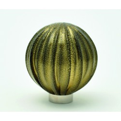 Murano glass Knobs SFERA RIGADIN ORO 1522