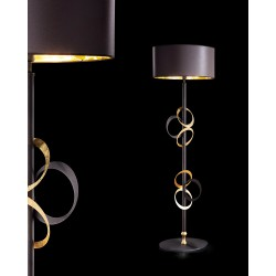 Metal Floor lamp with lampshade 241/LT