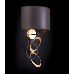 Metal Wall lamp with lampshade 241/A