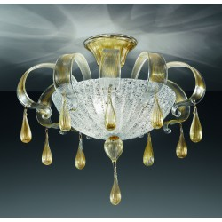 Murano glass artistic ceiling lamp 1179/PL