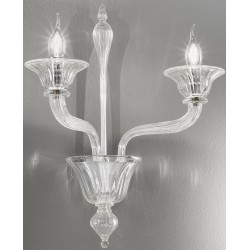 Venetian artistic glass wall lamp 1002/A2