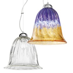Venetian glass suspension 1008