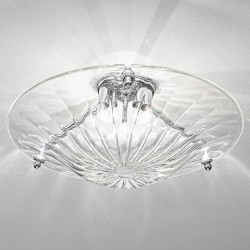 Venetian glass ceiling lamp 1008PL55