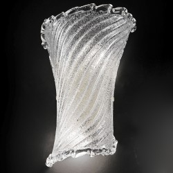 Artistic crystal glass wall lamp hand made in Venice 529/AMCR
