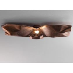 CRASH p/pl100x40 ceiling or wall lamp