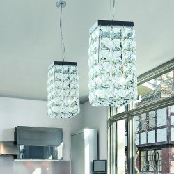 Quadri 455/S1 Suspension lamp