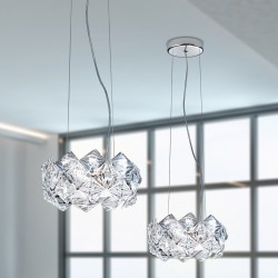 Prisma 820/S30X20 suspension lamp