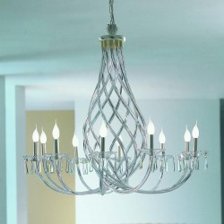 INTRECCI 1000/10 Murano glass chandelier