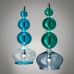 Murano glass suspension lamp Sophia