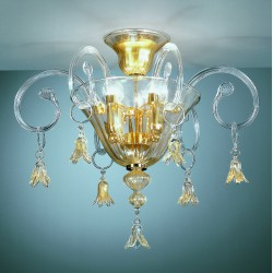 Murano glass artistic ceiling lamp 90/PL