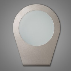 TESLA p/pl LED Wall or ceiling lamp platino