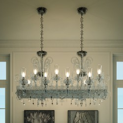 INTRECCI 1315/16 Murano glass chandelier