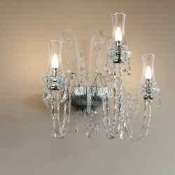 INTRECCI 1315/APP3 Murano glass wall lamp