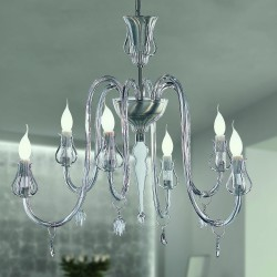 INTRECCI 2022/6 Murano glass chandelier