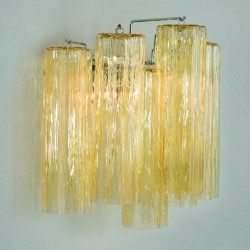 GLACE 4160/APP Wall lamp in Murano crystal