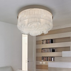 VENEZIA 4800/PL60 ceiling lamp with Venetian glass beads