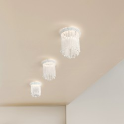 VENEZIA 4820/F recessed spotlight with Venetian glass beads