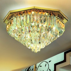 CRISTALLI 5034/PL65 Ceiling lamp with Murano crystal pendants