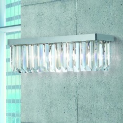 CRISTALLI 5080/APP2 Wall lamp with Murano crystal pendants