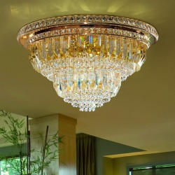 CRISTALLI 7031/PL60 Ceiling lamp with Murano crystal pendants