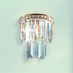 CRISTALLI 7031/APP25 Wall lamp with Murano crystal pendants