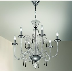 Murano artistic glass chandelier 1179/6