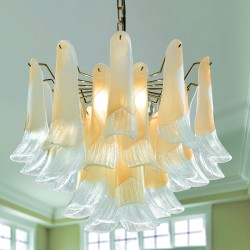 PETALI 8007/60 Suspension lamp in Murano glass