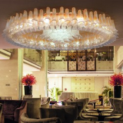 PETALI 9008/PL200 Ceiling lamp in Murano glass
