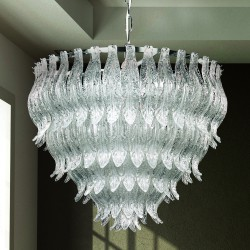 PETALI 8002/60 Suspension lamp in Murano glass