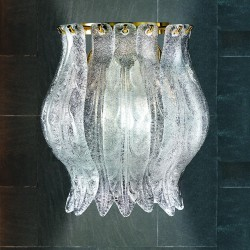 PETALI 8002/APP3 Wall lamp in Murano glass