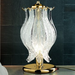 PETALI 8002/L Table lamp in Murano glass