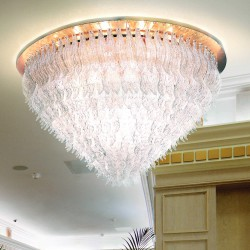 PETALI 8002/PL130 Ceiling lamp in Murano glass