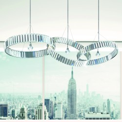 FEDI 9252/S Suspension lamp with lead crystal