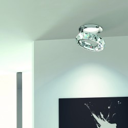 FEDI 9250/F Recessed light with lead crystal