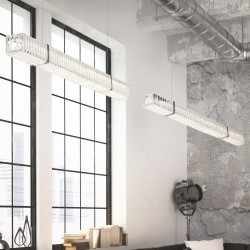 NEW YORK 9282/S120 Suspension lamp with crystal pendants