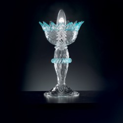 "Table lamp ""Veneziano"" in genuine Murano blown glass"