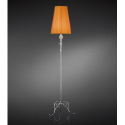 Floor lamp Altair with fabric shade