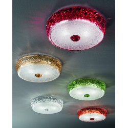 Murano glass artistic ceiling lamp 999/COL