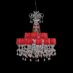 Chandelier 257 with multicolored Swarovski Elements